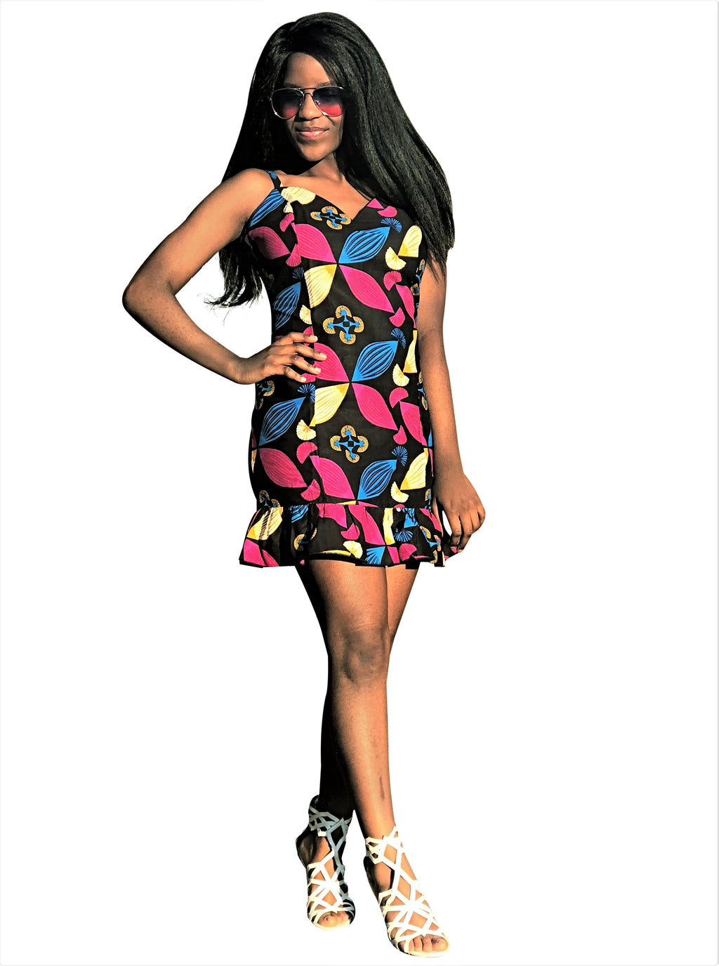 African Bodycon Dress - African Print