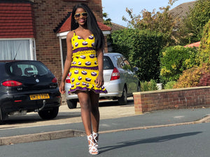 African Bodycon Dress