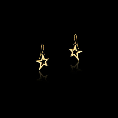 Shooting Star Fairtrade Hoop Earrings