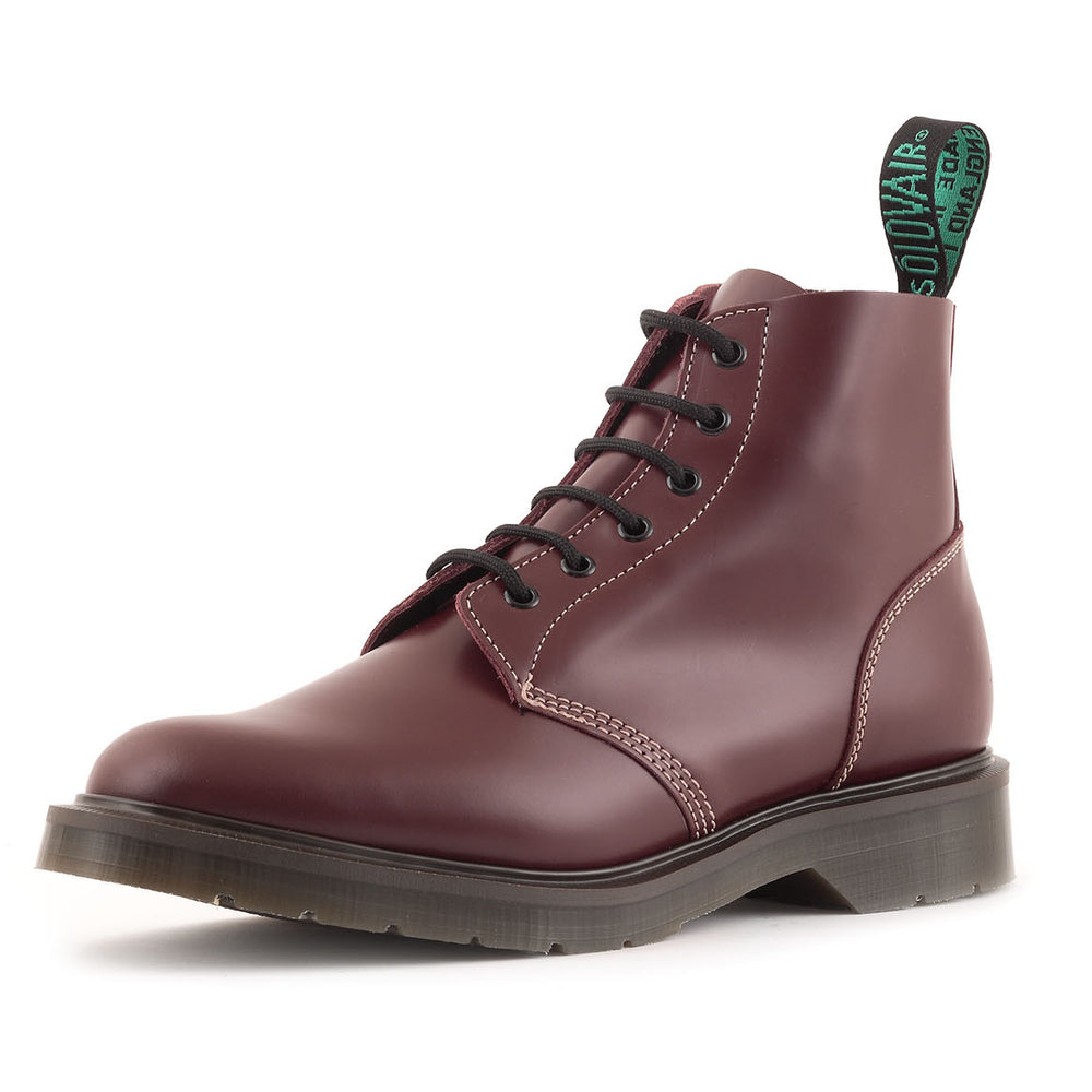 Classic 6 Eye Derby Boot in Oxblood