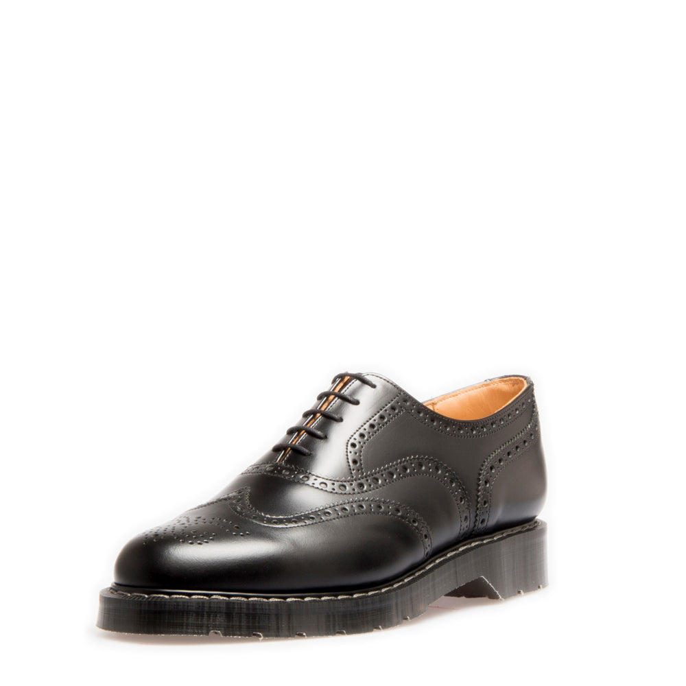 Classic 5 Eye English Brogue in Black