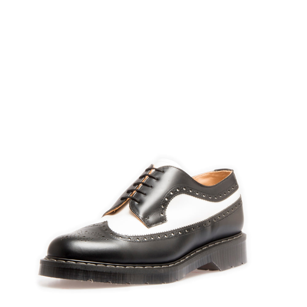 Classic 5 Eye American Brogue in Black & White
