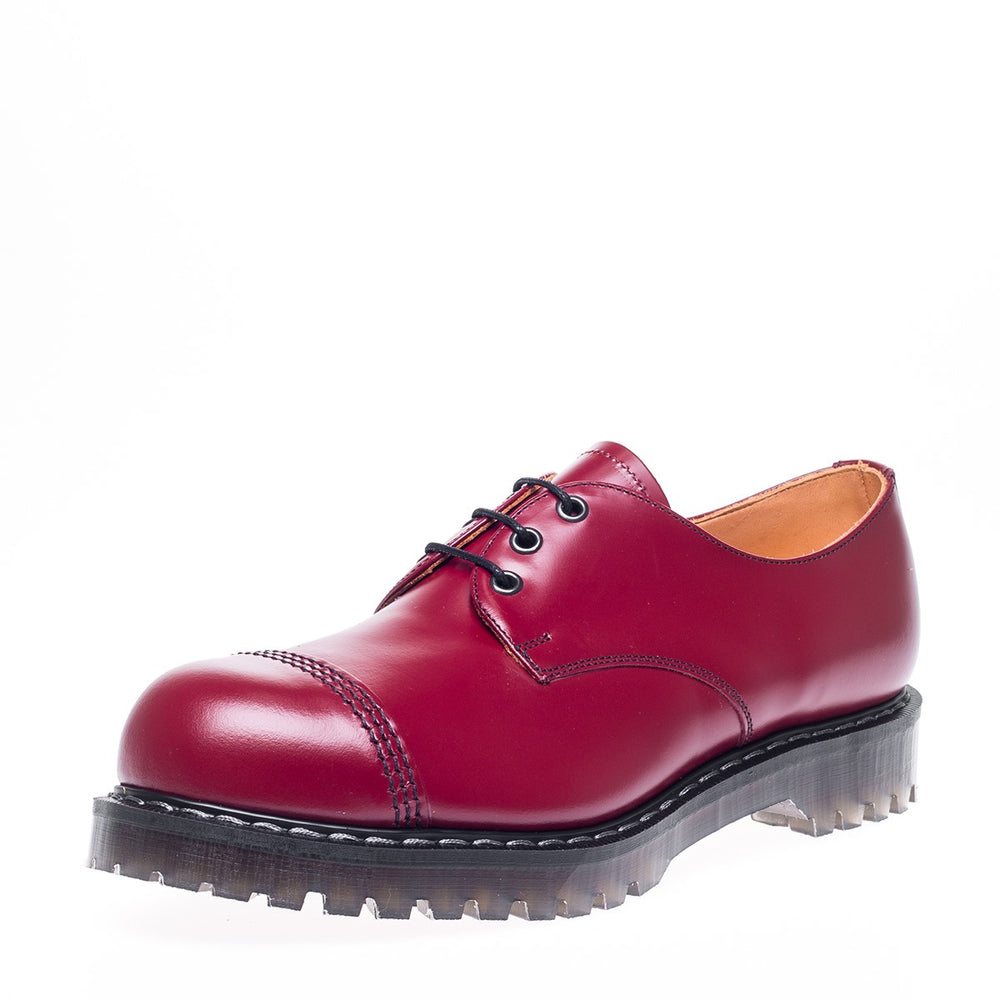 Classic 3 Eye Steel Toe Gibson in Cherry