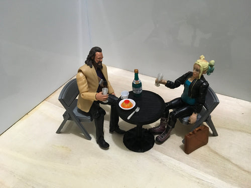 Cafe Table (1:18 scale)