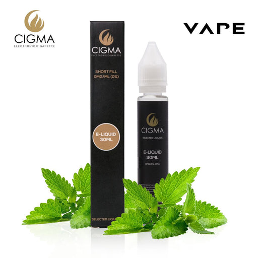 Shortfill, 30ml, 0mg, Cigma, Mint
