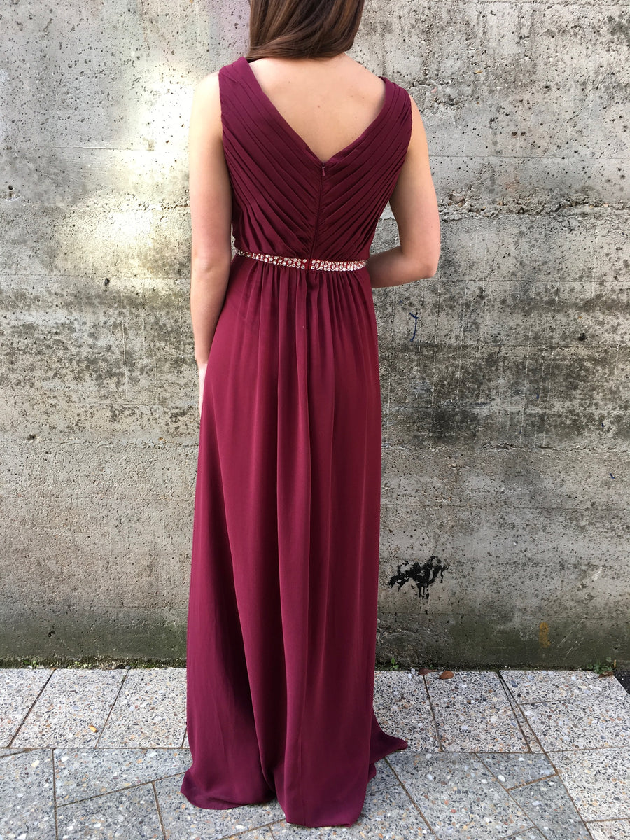 Darling gown - maroon