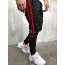 Load image into Gallery viewer, Mens Novely Stripe Patchwork Pants