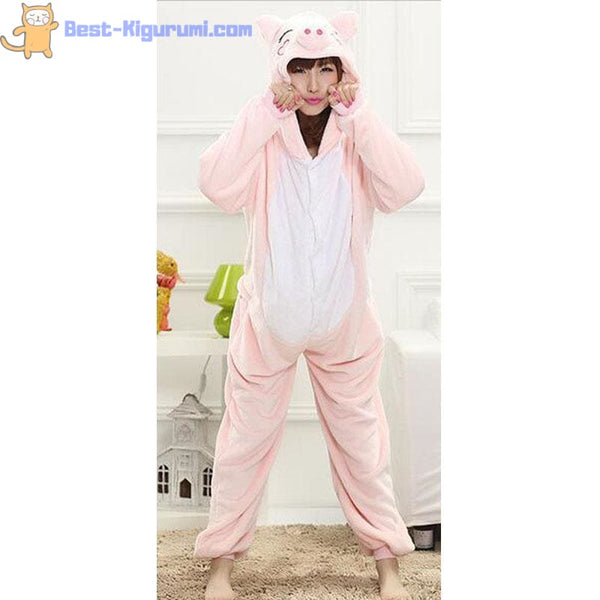 Adult Pig Onesie Pajamas | Kigurumis for Women & Men -Best Kigurumi