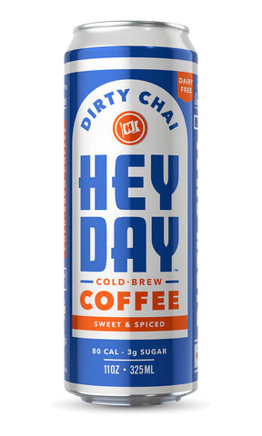 HEYDAY Dirty Chai Cold-Brew Coffee