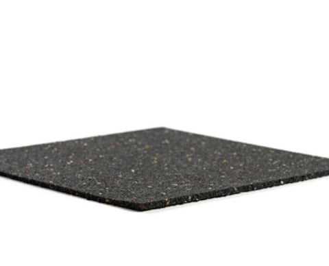 Resilmat® RM610 10mm Recycled Rubber Impact Sound Isolation Floor Underlayment (60sf/roll)