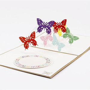 Butterfly | 3D Card - The Only Roses