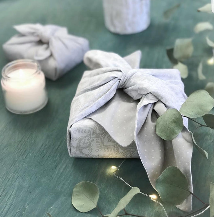 Zero Waste Holiday Wrapping
