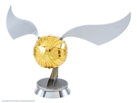 Harry Potter Golden Snitch 3-D Metal Earth Model