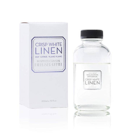 Image of Crisp White Linen 200ml Diffuser Refill
