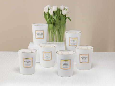 Image of Aqua Marine 900g Scented Soy Candle