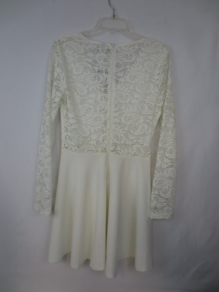 "Windsor ""Lace Me Gently"" Long Sleeve Dress"