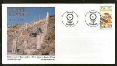 South Africa 1985 First Copper Mine in Namaqualand Special Cover # 16516