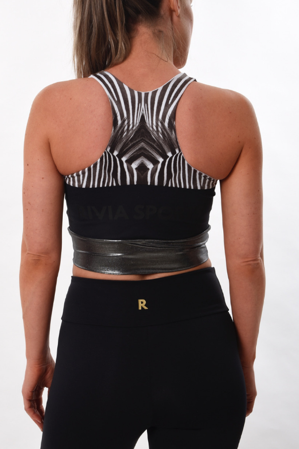 RIVIA SPORTS - Rs Stripes Crop Top