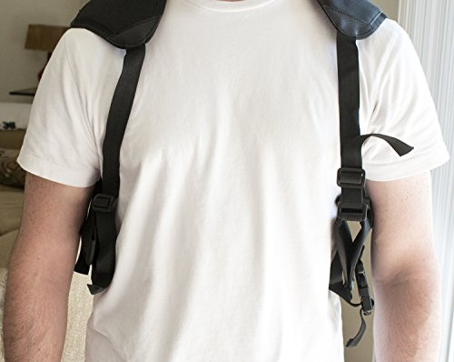 Best Concealed Carry Shoulder Holster - Works Great for 1911, Revolvers, Pistols, Hand Guns - Universal Fit for Glock, Springfield, Taurus, MTAC, Kimber, Walther, Beretta, Ruger, Colt, All Others!