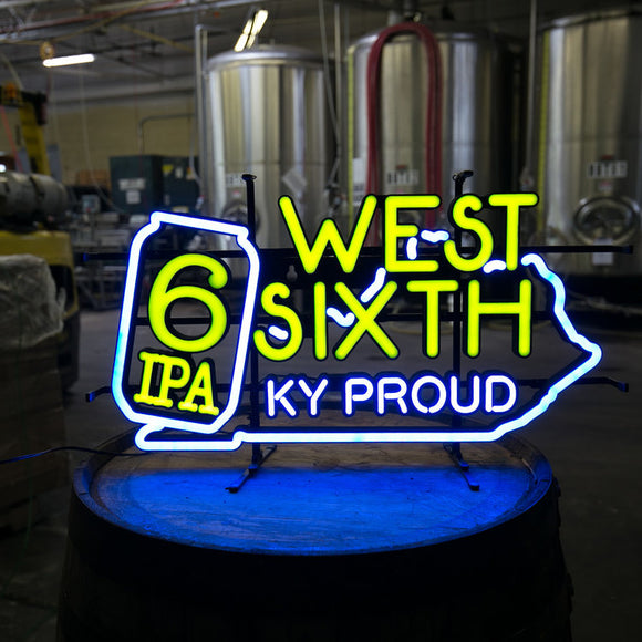 West Sixth LED Neon Sign