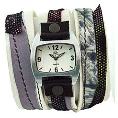Bombshell Beauty Triple Wrap Watch