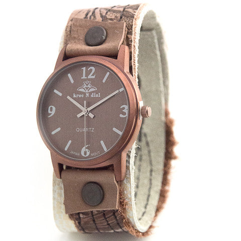 Copper Couture Classic Cuff Watch