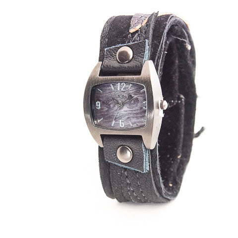 Black Magic Narrow Cuff Watch