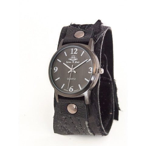 Black Magic Classic Cuff Watch
