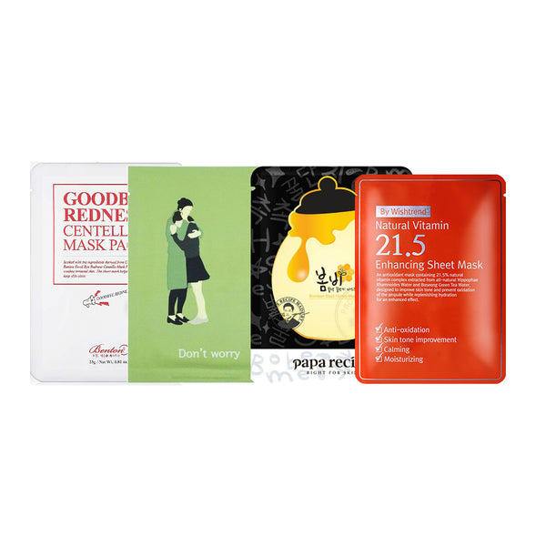 Emily's Favorite Sheet Masks