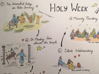 Holy Week - A4 Download