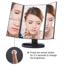 Load image into Gallery viewer, Glamorous LED Touchscreen Makeup Mirror