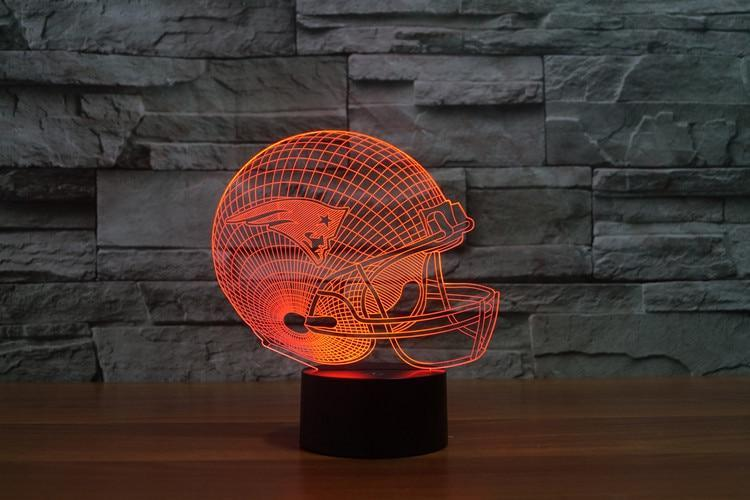 Summit Grass Patriots Helmet 3D Night Light