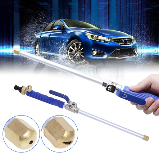 High Pressure Water Gun Power Washer Spray Nozzle Water Hose Wand Attachment