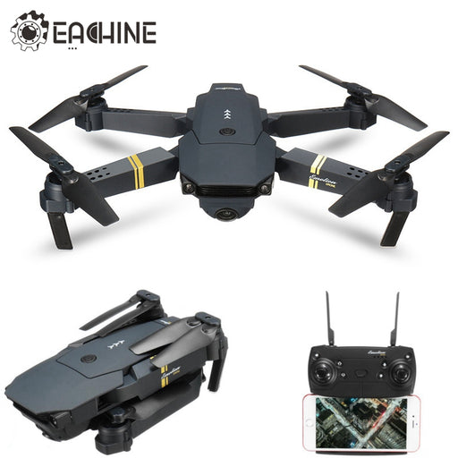 Eachine E58 WIFI FPV With Wide Angle HD Camera High Hold Mode Foldable Arm RC Quadcopter RTF VS VISUO XS809HW JJRC H37