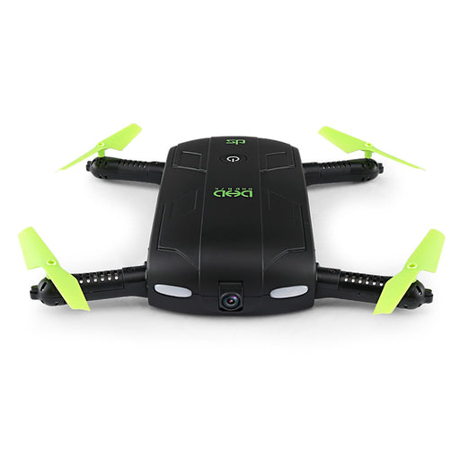 DHD D5 Wifi FPV 480P Camera Foldable Selfie Drone 6-Axis Gyro Altitude Hold Flight Path RC Quadcopter