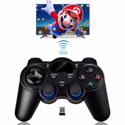 Portable 2.4G Wireless Game Controller Gaming Joystick Handle Gamepad Joypad For PS3 Android TV Box Smart Phone Tablet PC