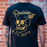 Til Death Tee - Black - The Populess Company