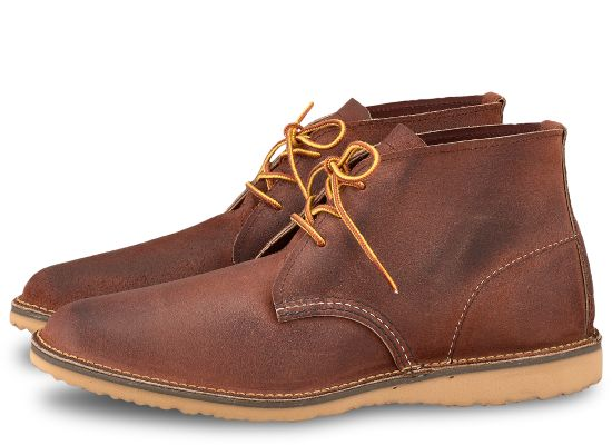 WEEKENDER CHUKKA 3326 - Red Maple Muleskinner - The Populess Company