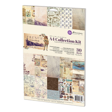 A4 Collection Kit-French Riviera 655350583750