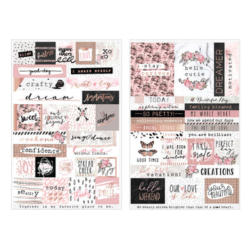 Amelia Rose - Word & Quote Stickers 655350596767