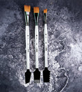 Art Basics: Double-Sided Texture Brushes Set 1 - 3 pcs