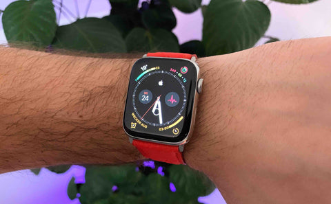 Apple Watch Armband am Handgelenk