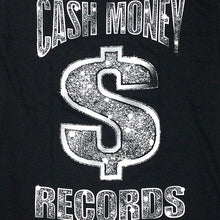 "画像をギャラリービューアに読み込む, Cash Money Records""CM Black Bling""T-Shirt-BLACK-"