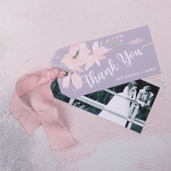 Ethereal Thank You Luggage Tag