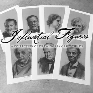"""Influential Figures"" Open Edition Print"