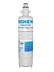 Renew 9690RNW Replacement Water Filter - Fits LG LT700P, ADQ36006101, LFX25976ST, and more!