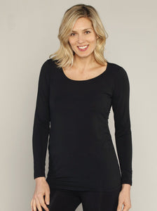 Long Sleeve Maternity & Nursing Top