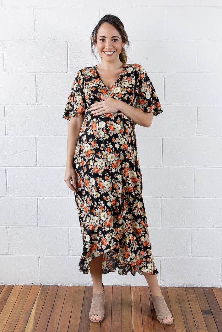 Harlow Wrap Dress