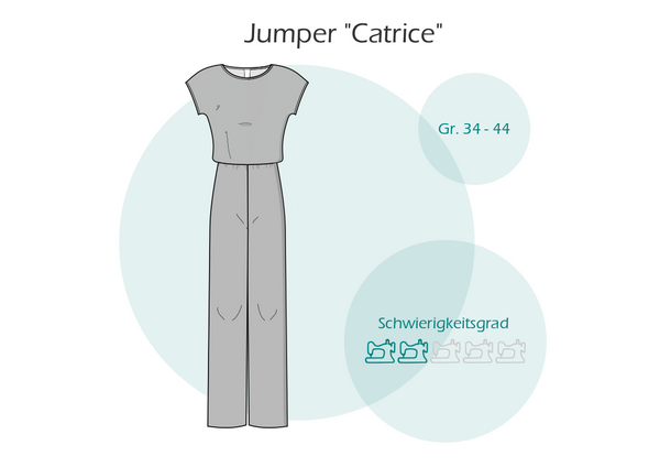 "Overall/Jumper ""Catrice"" (Schnittmuster/Ebook)"