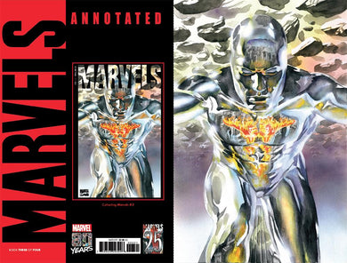 MARVELS ANNOTATED #3 (OF 4) ALEX ROSS VIRGIN VAR